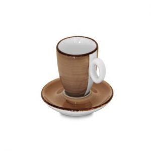 Tazzine Caffè Brush Tortora