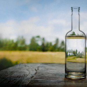 Bottiglia Vand Trasparente 75 cl