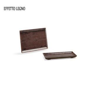 Vassoio Rettangolare Legno 30x15 cm