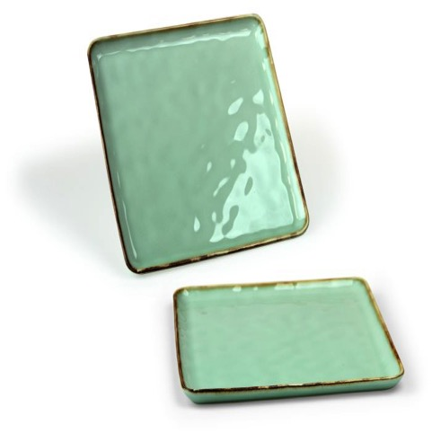 Vassoio Quadro Emozioni Verde 25,5 cm
