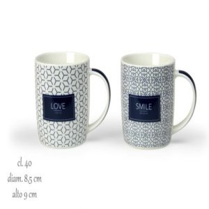 Tazza Mug Feeling Blu