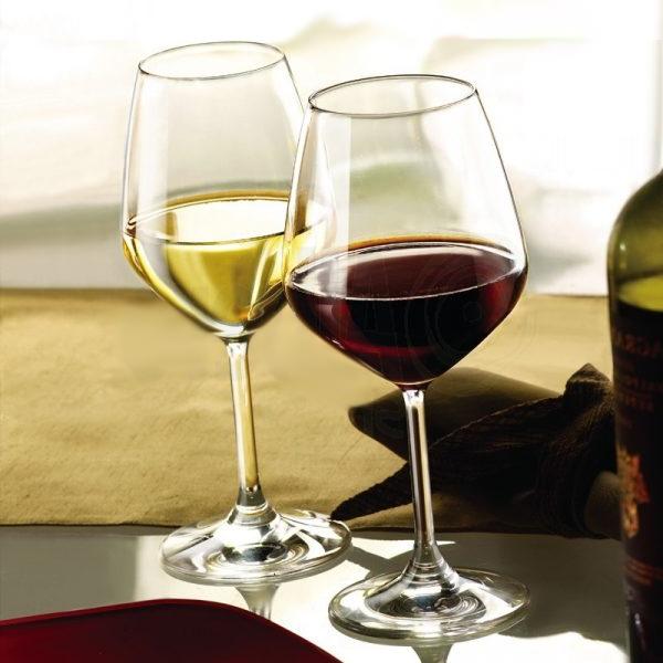 Calice Vino Bianco 44 cl Divino Bormioli Rocco GMA logo su calici