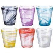 Bicchiere Capri 45 cl in vetro decorato Bormioli Rocco