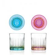 Bicchieri Pedro e Rosa Set 36 cl
