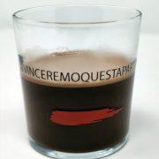Bicchiere per cioccolata Arcobaleno 36.6 cl GMA Serigrafia personalizzazione vetro
