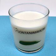 Bicchiere per latte Arcobaleno 36.6 cl GMA Serigrafia personalizzazione vetro
