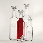 Bottiglia Optima 75 cl per acqua Luigi Bormioli serigrafia su vetro GMA