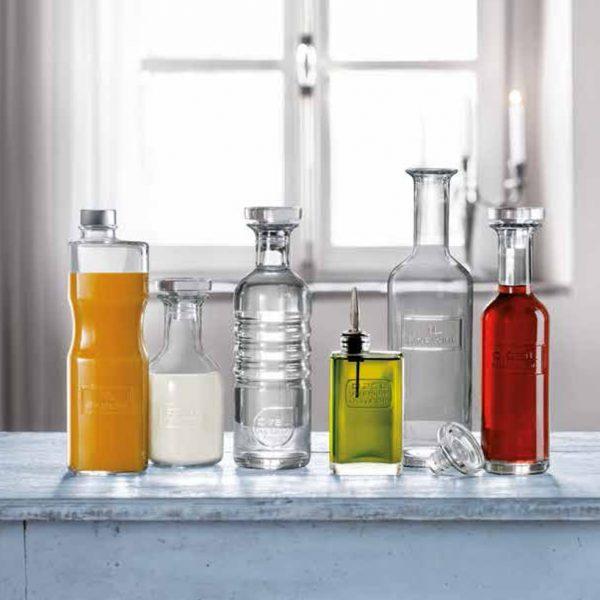 Bottiglia Optima 75 cl acqua Luigi Bormioli GMA vetro personalizzato