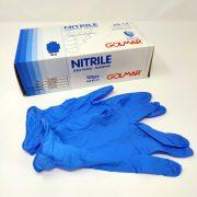 Guanti in nitrile monouso Golmar conf. 100 pezzi GMA