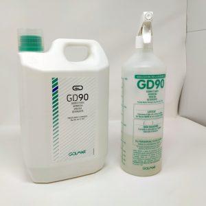 Disinfettante GD90 con Spruzzino Golmar GMA Serigrafia