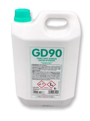 Disinfettante virucida GD90 3 L GMA Serigrafia