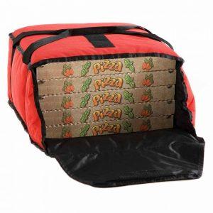 Borsa termica per consegna pizza a domicilio, max 5 cartoni GMA