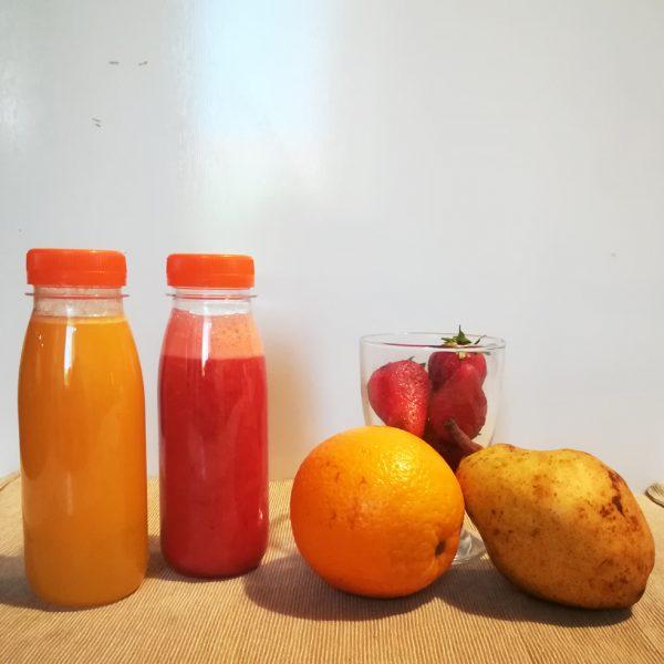 Bottiglietta per succhi di frutta delivery tappo 25 cl GMA