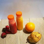 Bottiglietta per succhi di frutta asporto tappo 25 cl GMA