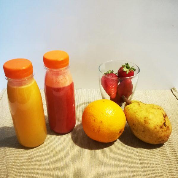 Bottiglietta per succhi di frutta consegne domicilio tappo 25 cl GMA