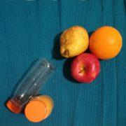 Bottiglietta asporto per succhi di frutta tappo 25 cl GMA