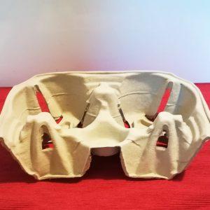 Porta bicchieri in cartoncino riciclato per delivery GMA serigrafia VR