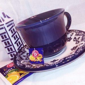 Tazze Te Flora con piattino decorate GMA personalizzazioni