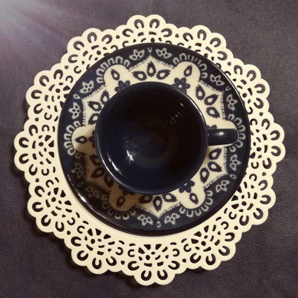 Tazzine Caffè Flora con piattino GMA Vr