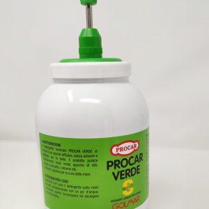 Pasta lavamani Procar Verde 3 L GMA Serigrafia