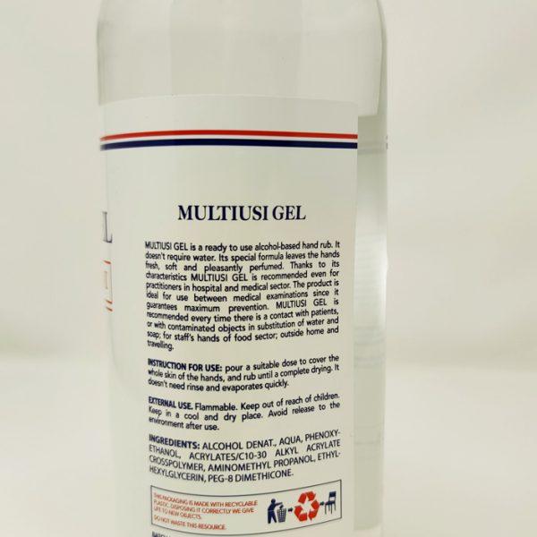 Multiusi gel mani 1 L disinfettante mani GermoCare GMA