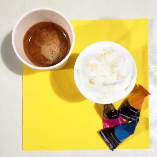Bicchieri Caffè take away domicilio polpa di cellulosa GMA serigrafia