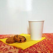 Bicchiere ecologico Cappuccino in cellulosa e PLA GMA domicilio