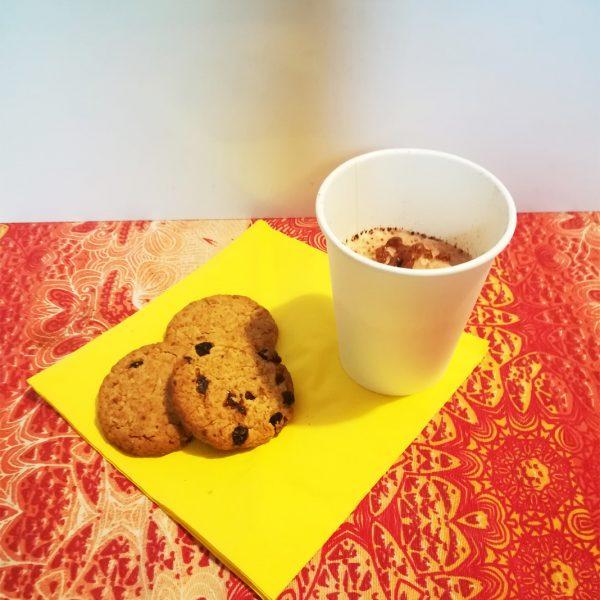 Bicchieri Cappuccino biodegradabile in cellulosa e PLA GMA take away