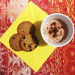 Bicchieri Cappuccino biodegradabile in cellulosa e PLA GMA asporto