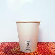 Bicchieri Cappuccino biodegradabile in cellulosa e PLA GMA delivery