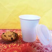 Bicchiere Cappuccino biodegradabile in cellulosa e PLA GMA asporto