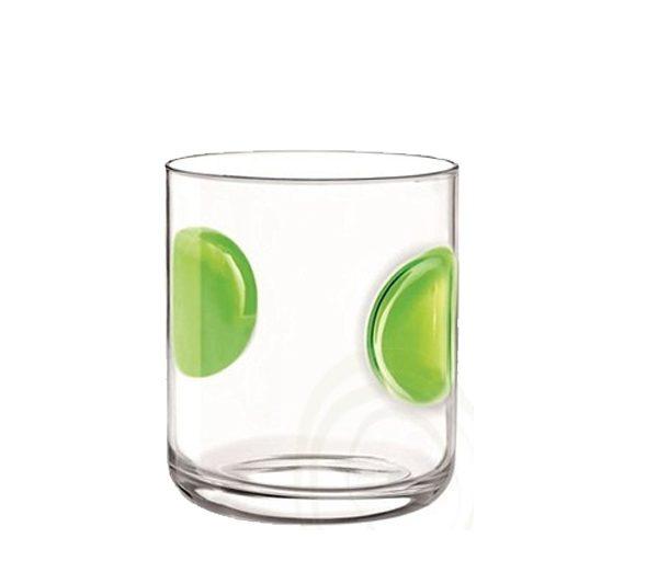 Bicchieri Acqua 31 cl Giove verde, colori assortiti Bormioli Rocco GMA personalizzazione vetro