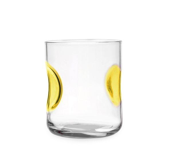 Bicchieri Acqua 31 cl Giove giallo, colori assortiti Bormioli Rocco GMA personalizzazione vetro