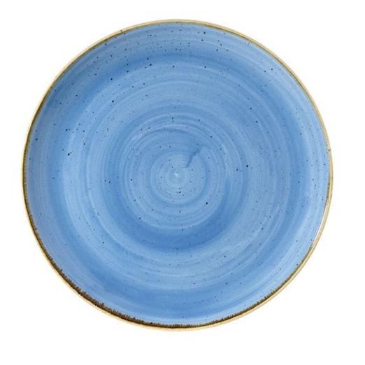 Piatto Piano Blu 32 cm Stonecast Churchill GMA porcellana e vetro personalizzazioni