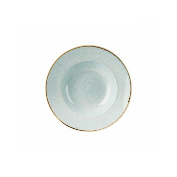 Piatto Pasta Azzurro 28 cm Stonecast Churchill Pastabowl GMA serigrafia vetri e porcellane