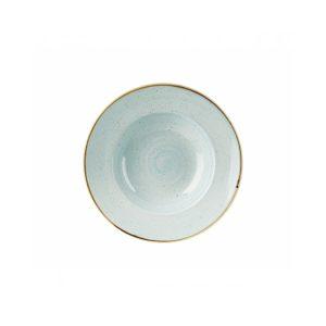 Piatto Pasta Azzurro 24 cm Stonecast Churchill Pastabowl GMA serigrafia vetri e porcellane