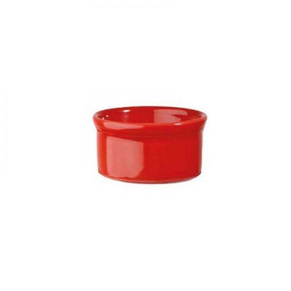 Stampo Rosso 9 cm Ramekin Cookware Churchill GMA serigrafia su vetro