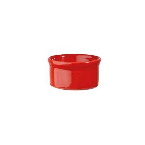 Stampo Rosso 7 cm Ramekin Cookware Churchill GMA serigrafia su vetro