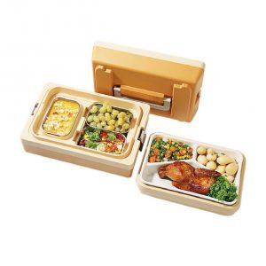 Vaschetta in porcellana 3 scomparti per DUO Major Menut GMA Delivery