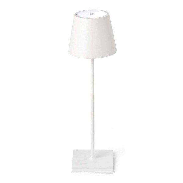 Lampada tavolo LED Bianca GMA serigrafia su vetro personalizzazioni