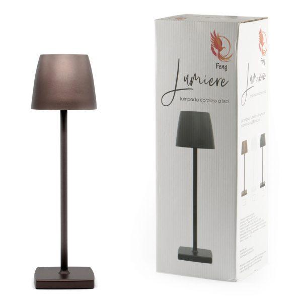 Lampada tavolo LED Bronzo GMA attrezzature ristorazione Verona