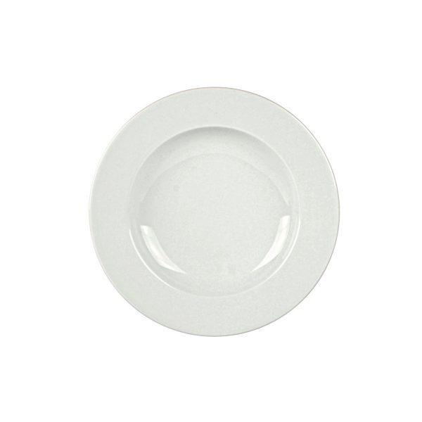Piatto Fondo Bianco Pera 23 cm Kutahya Porselen GMA forniture alberghiere