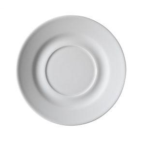 Piatto per Tazza colazione Bianca 25 cl Pera GMA serigrafia attrezzature alberghiere