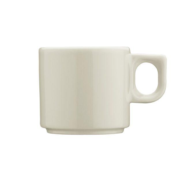 Tazza caffè Avorio Pera Kutahya Porselen GMA serigrafia vetro porcellana