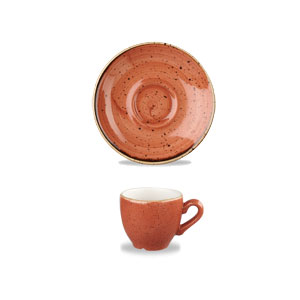 Tazza Caffè Arancio 10 cl Churchill Stonecast - GMA porcellana e vetro