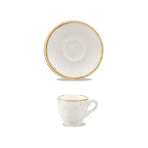 Piattino per Tazza Caffè Bianco 11.8 cm Stonecast Churchill