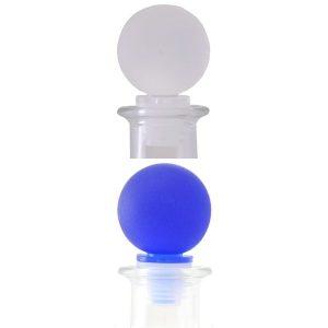 Tappi Sferici Satinati Bottiglia Viola