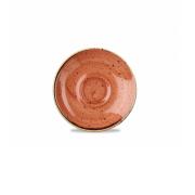 Piattino per Tazza Caffè Arancio 11.8 cm Stonecast Churchill