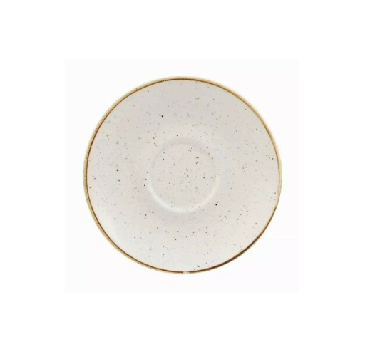 Piattino per Tazza Caffè Bianca 11.8 cm Stonecast Churchill