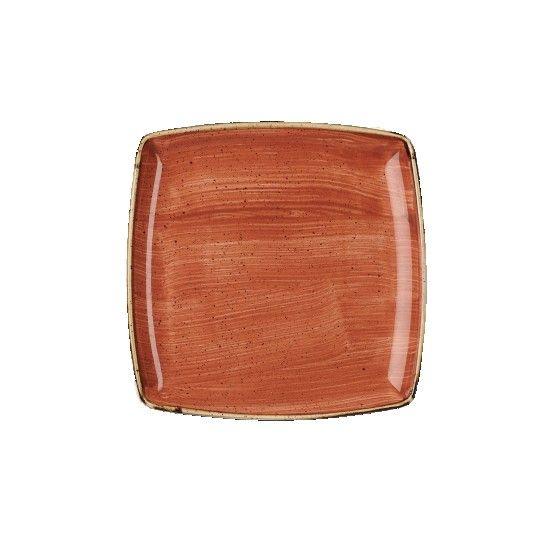 Piatto quadrato 26,8 x 26,8 cm Stonecast Churchill